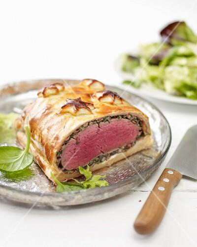 Beef Wellington for Christmas