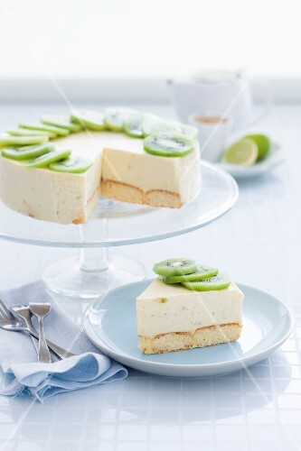 Mascarpone cake with limes and ginger