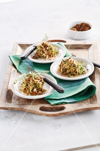 Courgette bolognese