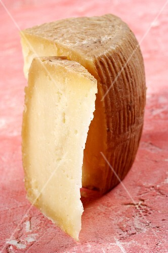 Canestrato di moliterno (cheese made from sheep's and goat's milk, Italy)