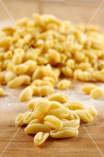Cavatelli (pasta from Molise, Italy)