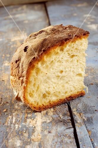Pane di Matera (white bread made from durum wheat, Italy)