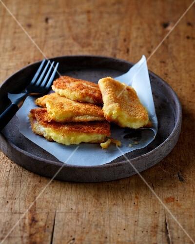 Baked mozzarella