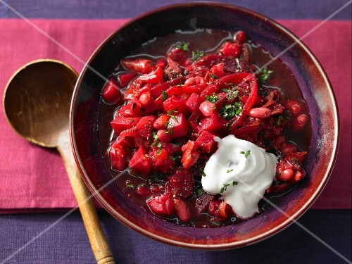 Russian borscht