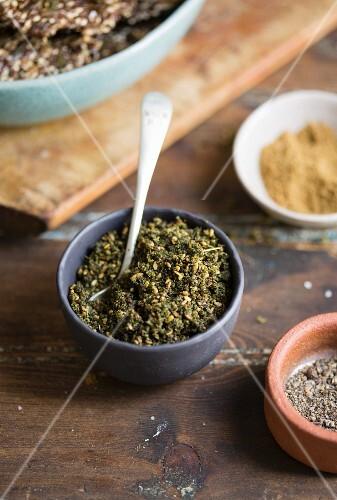 Zatar (oriental spice mixture)