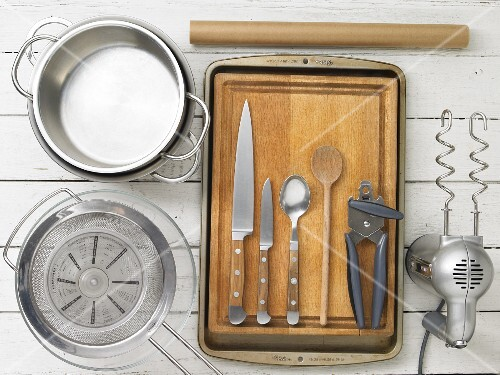 Kitchen utensils for minced meat with sauce
