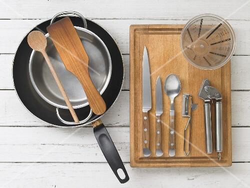 Kitchen utensils for making desserts