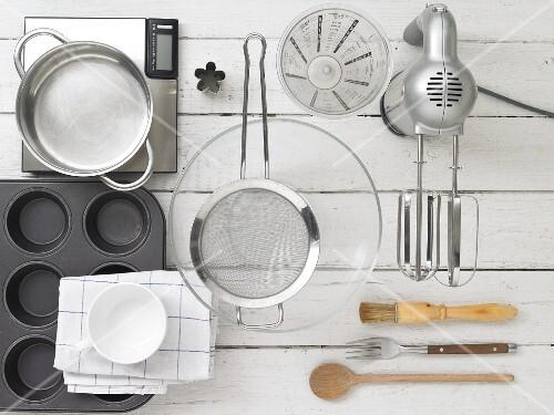 Kitchen utensils for making brioche