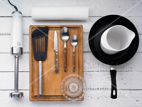 Kitchen utensils for making pasta sauces