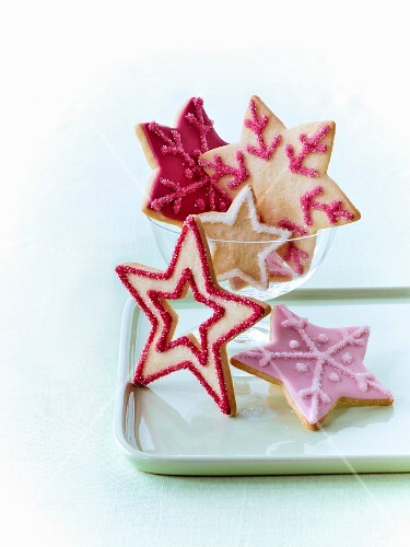 Christmas star biscuits