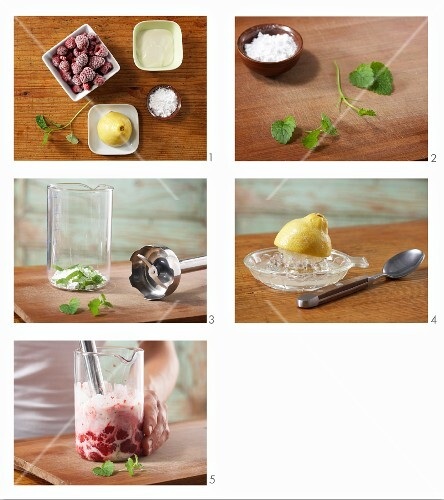 How to make raspberry & yoghurt ice cream