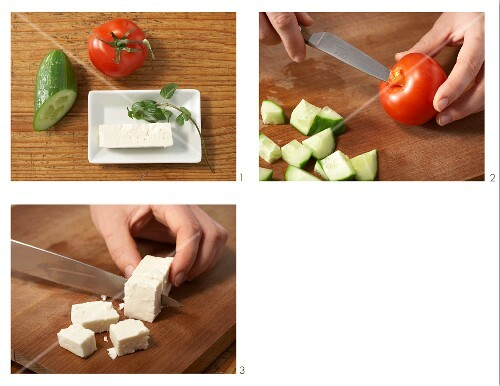 How to prepare a Turkish breakfast with sheep's cheese and fresh mint