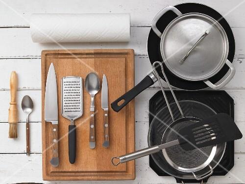 Kitchen utensils for preparing lamb