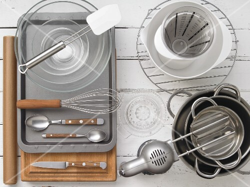 Kitchen utensils for making wafer cones