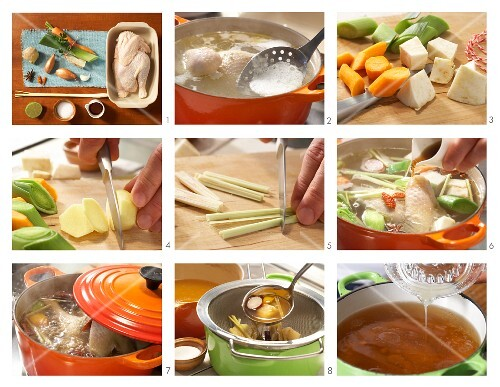 How to prepare Asian fish stock