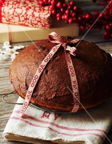 Spiced Christmas bread
