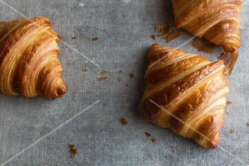 Butter croissants (France)
