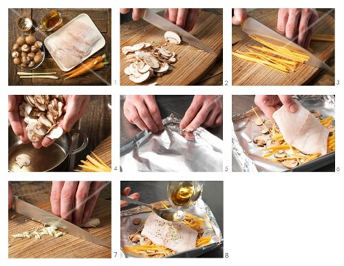 How to prepare grilled ling