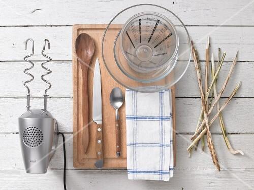 Utensils for campfire bread