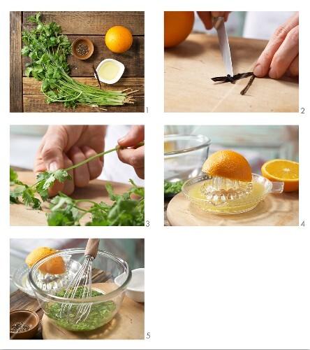 How to prepare orange marinade