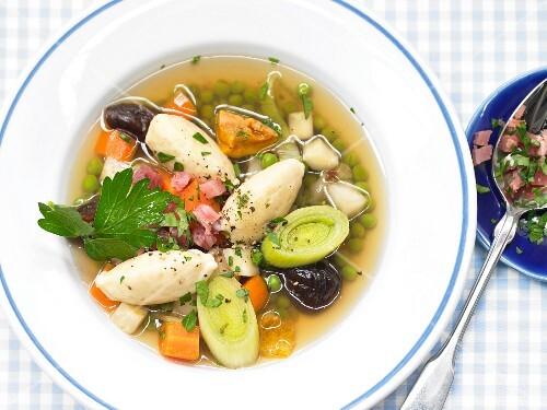 Hamburg eel soup
