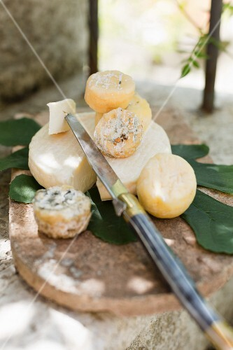 Marcellin and Le Petit Léoncel (French soft cheese)