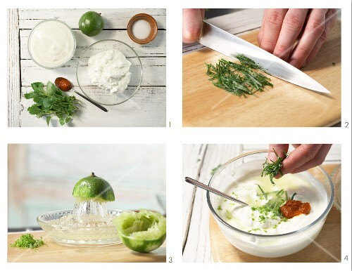 How to prepare hot lime dip