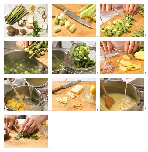 How to prepare cheese soup