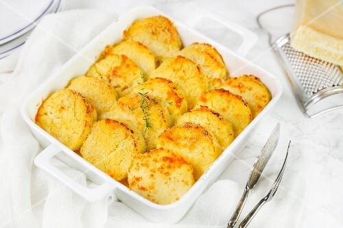Gnocchi alla romana with Parmesan