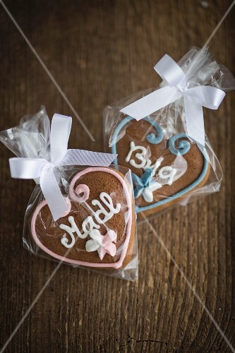Gingerbread hearts for Oktober Fest
