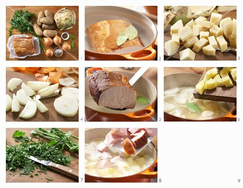 How to prepare swede stew with gammon