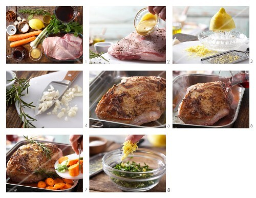 How to prepare braised leg of lamb