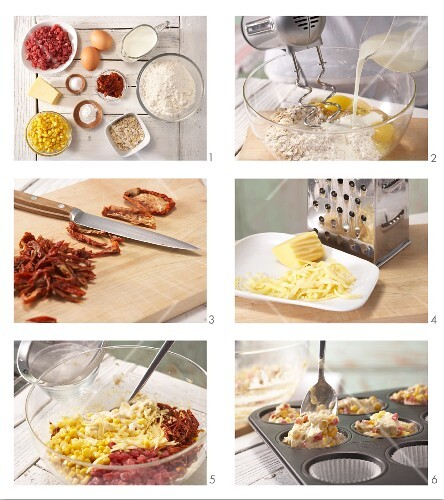 How to prepare pizza muffins