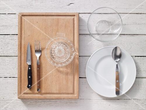 Kitchen utensils for preparing cream cheese