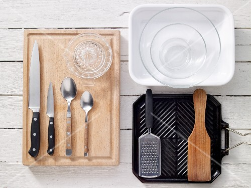 Utensils for grilled dishes