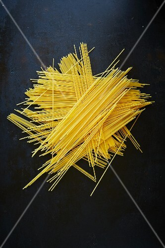 A pile of spaghetti
