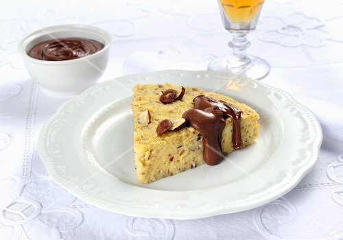 Torta di semola (Italian polenta cake)