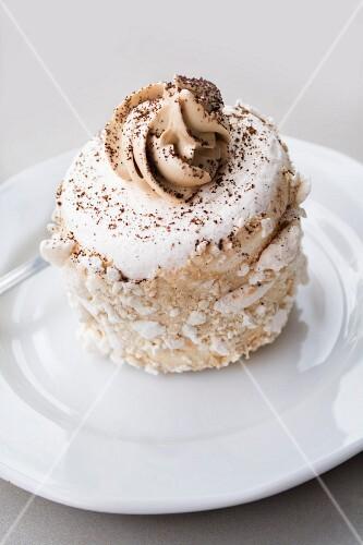 A Polish coffee & meringue cake