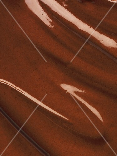 Melted chocolate (close-up)