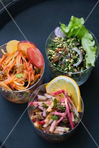 Oriental salads