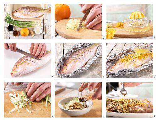How to prepare steamed red snapper