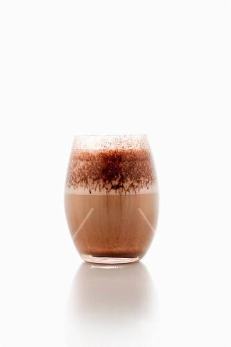 Marocchino (espresso with chocolate, milk foam and cocoa powder)