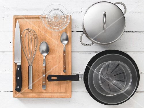 Kitchen utensils for preparing rice