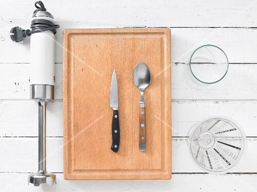 Kitchen utensil for preparing milkshake