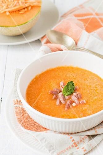 Summer melon soup