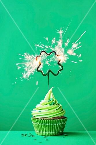 Cupcake to celebrate St Patrick s Day