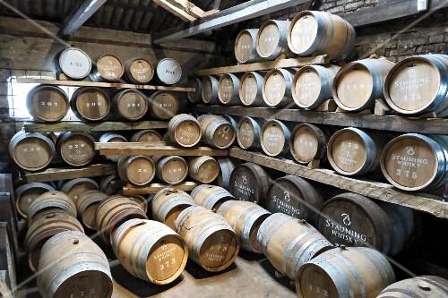 Whisky barrels in Denmark