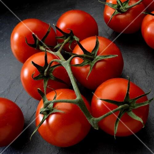 Fresh vine-ripened tomatoes