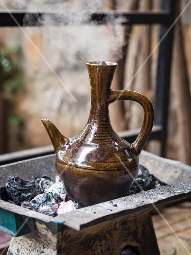Jabena (a traditional Ethiopian jug used during coffee ceremonies)