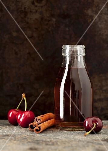 Bourbon, cherries and cinnamon